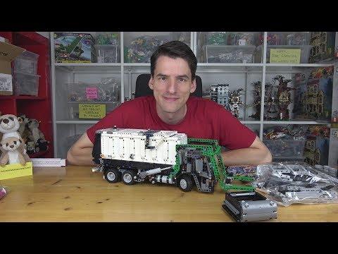 Zu schade für ein B-Modell - LEGO® Technic 42078 - Mack LR Müllwagen