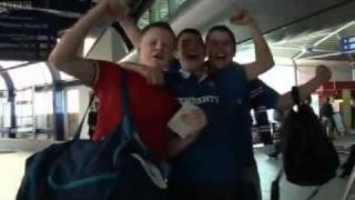 Rangers fan tells BBC 'Every Cunt Will Get On With Each Other'.
