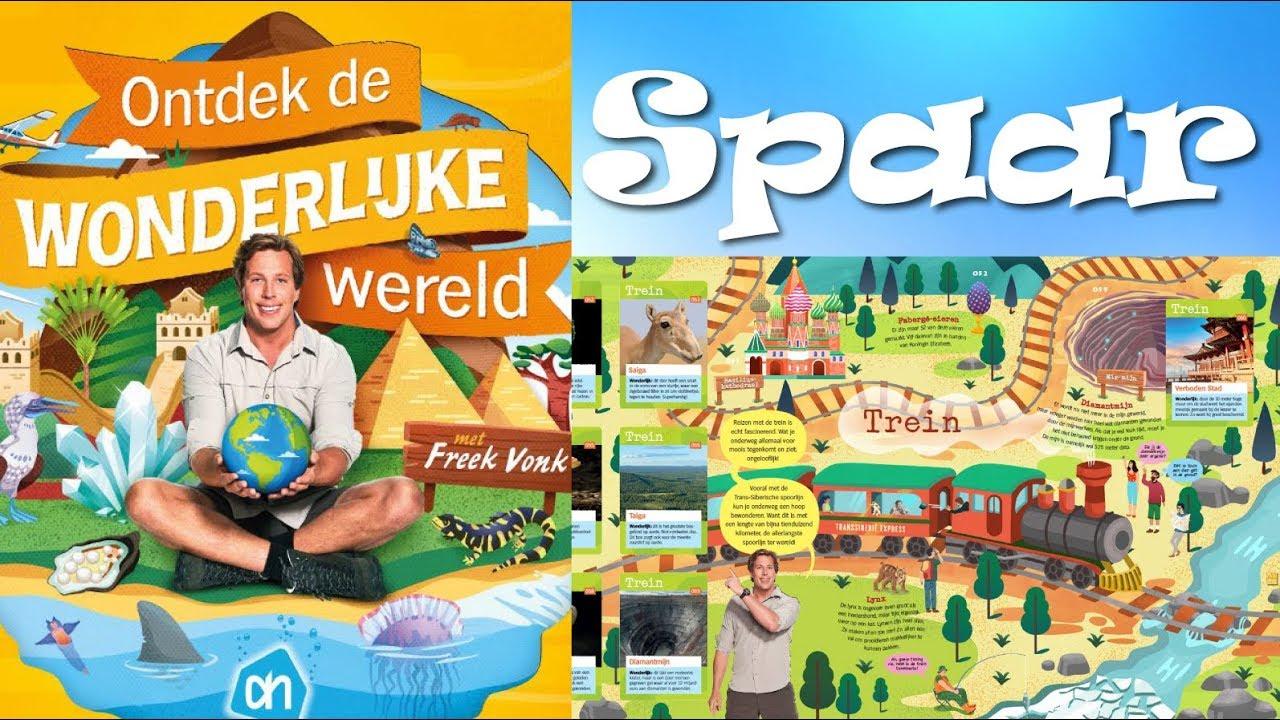 Spaaractie plaatjes van freek vonk gratis bij 10 euro aan boodschappen bij albert heijn youtube - Tijdschriftenrek huis van de wereld ...