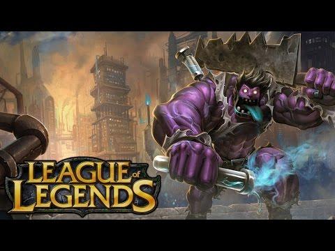 League of Legends Dr Mundo - Health Supreme