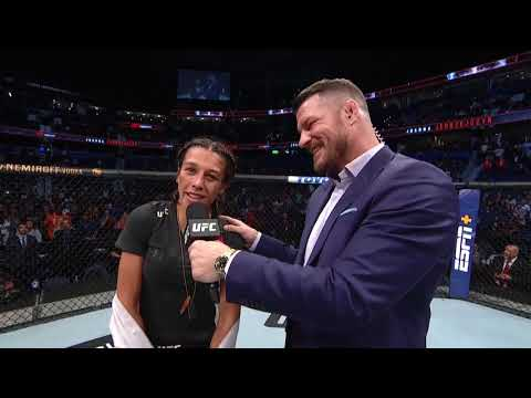 UFC Tampa: Joanna Jedrzejczyk and Michelle Waterson Octagon Interview