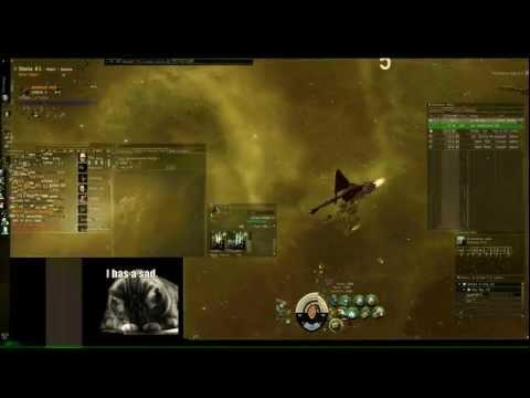 Eve Online - Smack-talking, Idiot Incursion Runner Gets Ganked And Podded