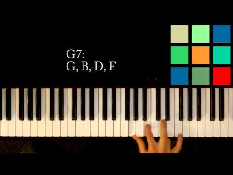 Piano piano chords g7 : Vote No on : Play G7 Chord in 4