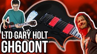 ESP LTD Gary Holt GH-600NT Demo/Review || SLAYERRRRR (And Exodus)!!!
