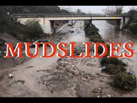 GSM Update - Confirmed Dam Breaks in Burbank & Mudslide Deluge in California The Grand Solar Minimum