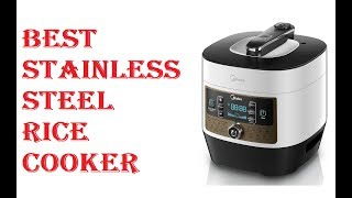 Best Stainless Steel Rice Cooker 2020