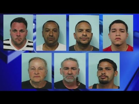 "22 arrested as Springfield police broke up ""open air drug market"""