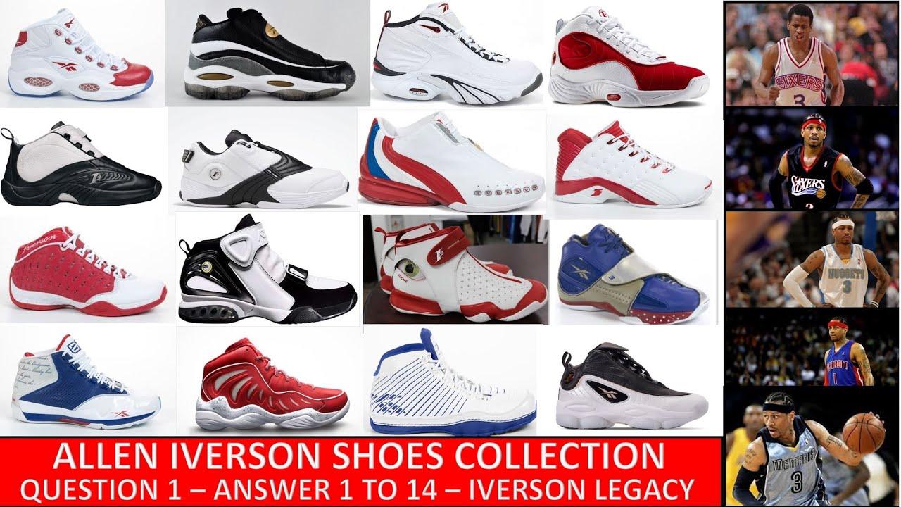Allen Iverson Shoes : Reebok Question 1
