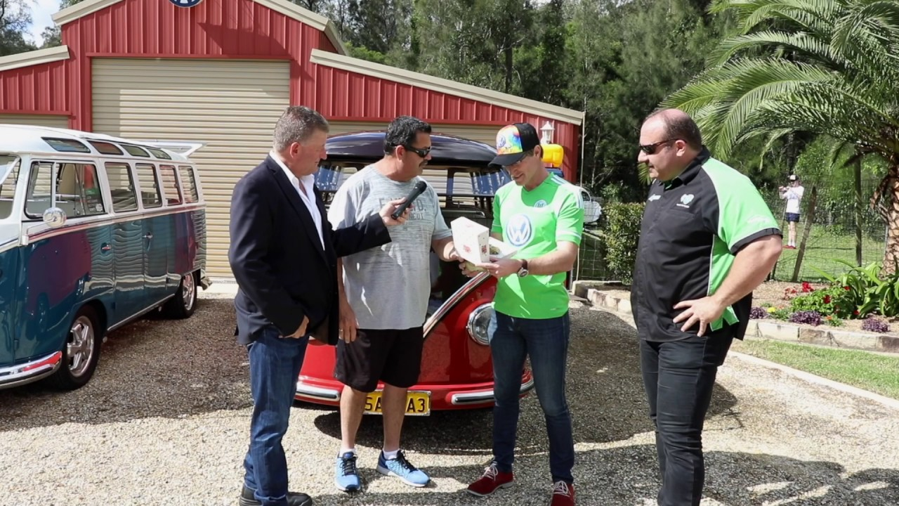 VW Family Picnic Day - Andy Roberts Presentation - Special Guest Fletch