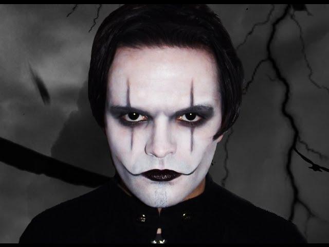 The Crow Makeup Tutorial Youtube