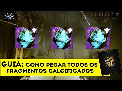 Destiny: Todos os fragmentos calcificados - Guia