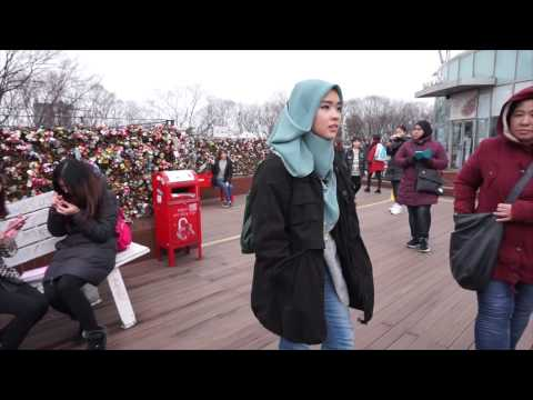 Namsan Tower + Namsan Hanok Village