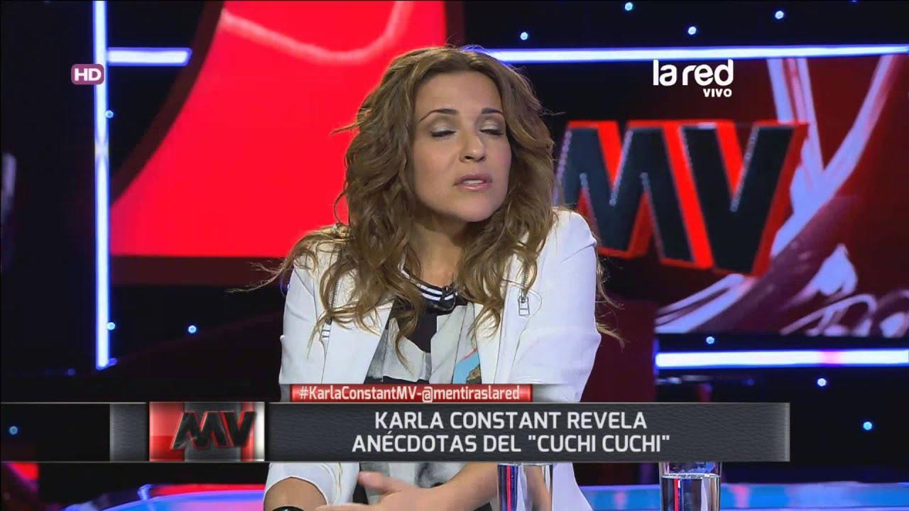 """Karla Constant revela anécdotas del """"Cuchi Cuchi"""" - YouTube"""