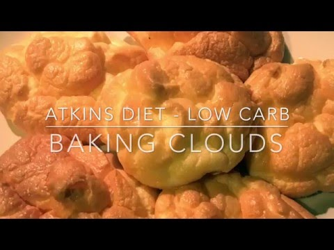 Baking Clouds - Atkins Diet - Low Carb - Weight loss
