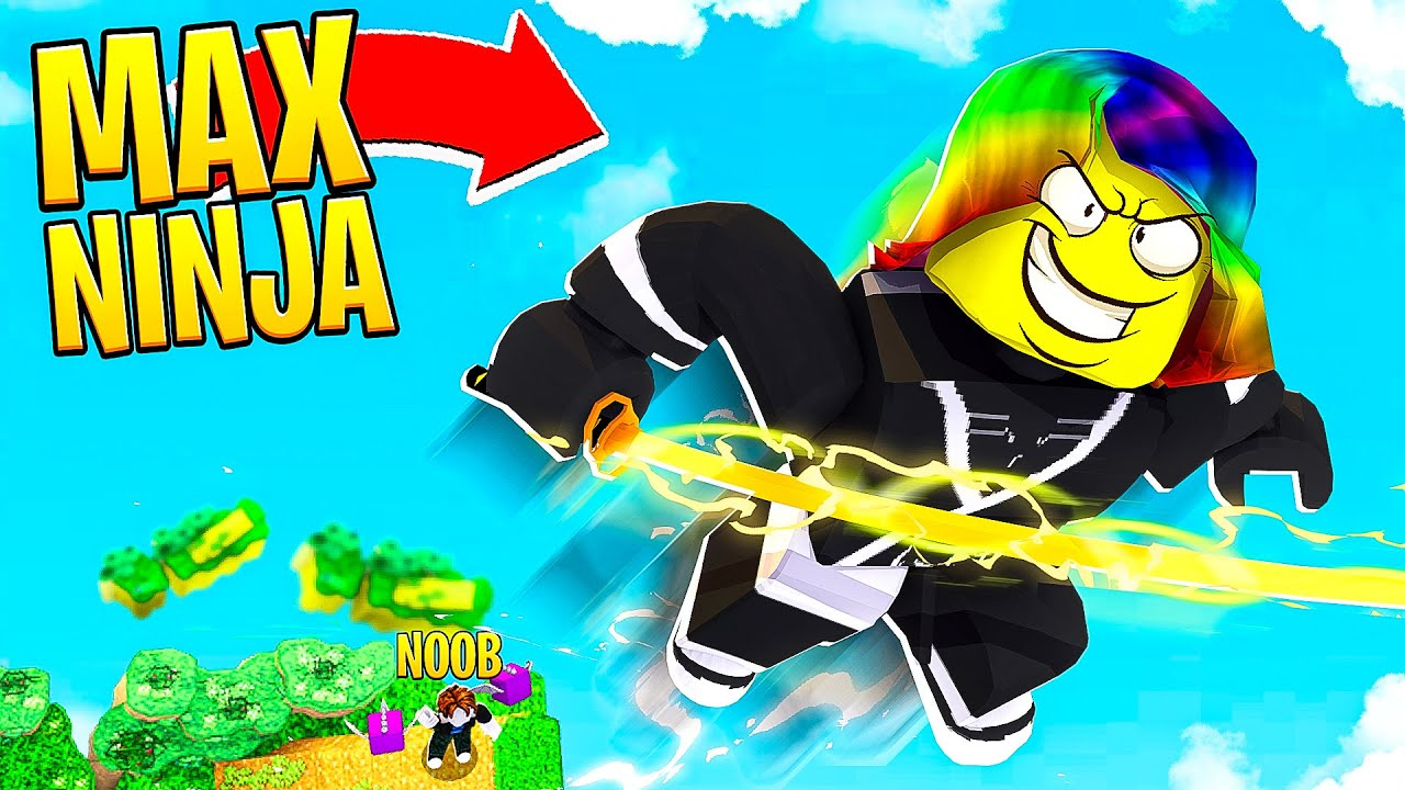 Youtube Roblox Ninja Simulator Get Robux M - I Got Max Ninja Items And Gave Them To A Level 1 Noob Here S