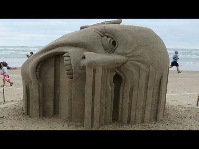 5 Erstaunliche Sandskulpturen - Die du nicht glauben wirst!