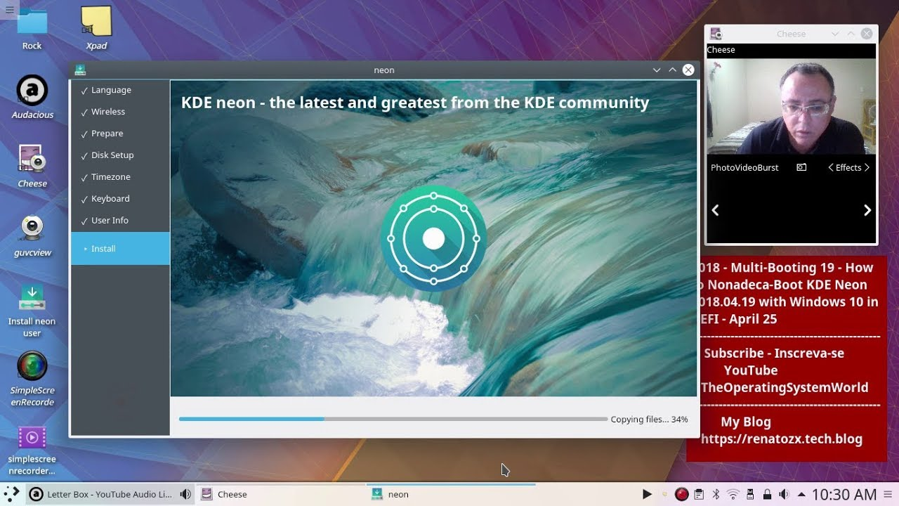 2018 Multi Booting 19 How To Nonadeca Boot Kde Neon  With Windows