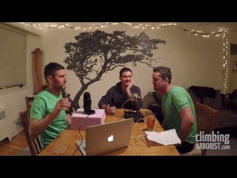TalkingTrees - Ep #5 (discussing one handed chainsaw use and 2 tie in points)