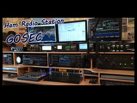 G0SEC Ham Shack Video with the New LP500 Station Monitor Par
