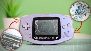 RARE Japanese Pokemon GameBoy Advance FULL Restoration