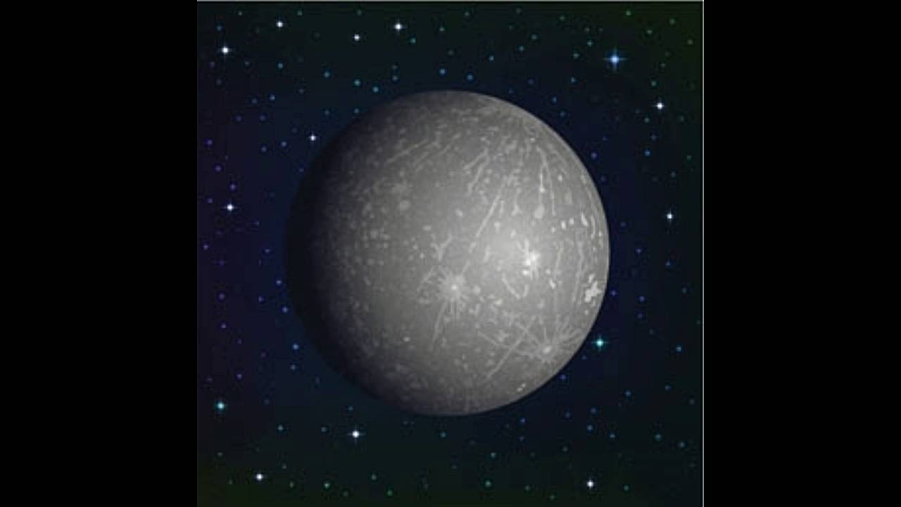 Mercury Planet Facts for Kids - YouTube