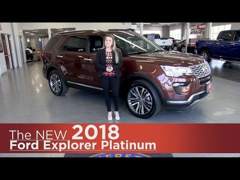 New 2018 Ford Explorer Platinum - Elk River, Coon Rapids, Mpls, St Paul, St Cloud, MN - Review