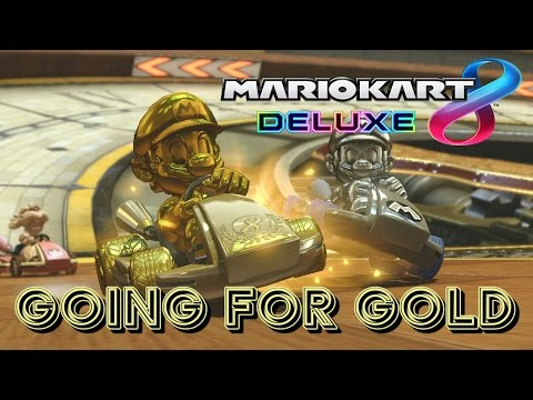 🔴 UNLOCKING ALL GOLD ITEMS | MARIO KART 8 DELUXE