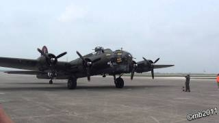 B-17 Texas Raiders Start-up and Taxi HD