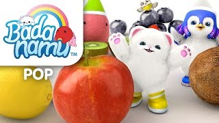 Bada's Fruit and Vegetables l Nursery Rhymes & Kids Songs