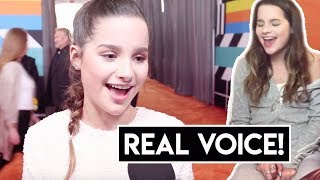 Annie LeBlanc Singing WITHOUT AUTOTUNE 2018!