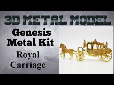 Genesis Metal Model Build - Royal Carriage