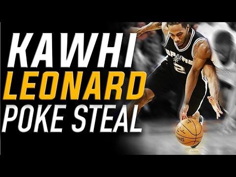 Kawhi Leonard Poke Steal Technique | How to Defense