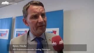 AfD und die Ahmadiyya Muslim Moschee  Pressekonferenz in Erfurt