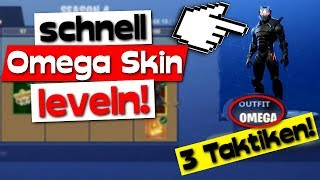 🏆Before SEASON 5 LEVEL 80, BE WITH THIS 3 TAKTIKS! | Fortnite Omega Skin level fast