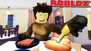 Bloxburg Werewolf Day Routine | Halloween Roblox Roleplay