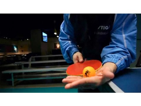 How to Do a Table Tennis Backhand Smash | Ping Pong