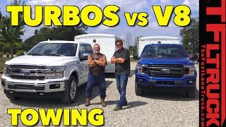 2018 Ford F150: Two Turbos or One V8 - Which is Better For Towing?