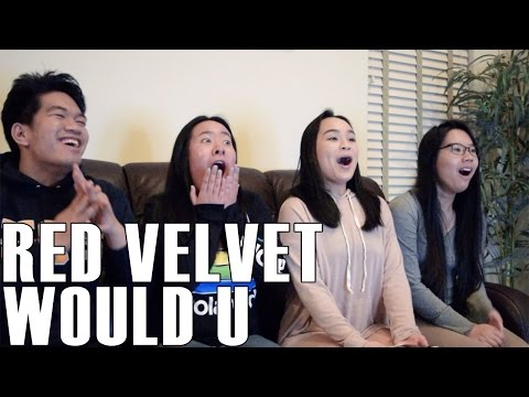 Red Velvet (레드벨벳)- Would U (Reaction Video)