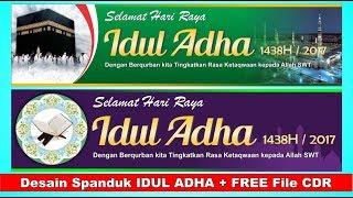 Desain Spanduk Idul Adha Dengan Coreldraw Free File Cdr Endlessvideo