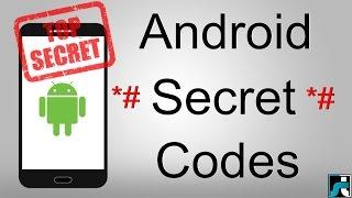 60+ Android Secret Codes List 2019 (Hidden Codes)