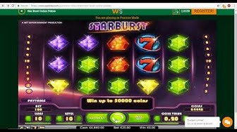 StarBurst Online Pokies Casino at wPokies