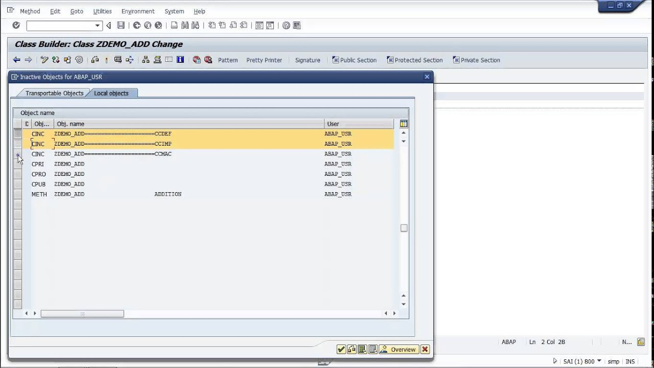 abap Abap is a programming language developed by sap for programming commercial applications in the sap environment since the introduction of sap netweaver, sap also offers a programming.