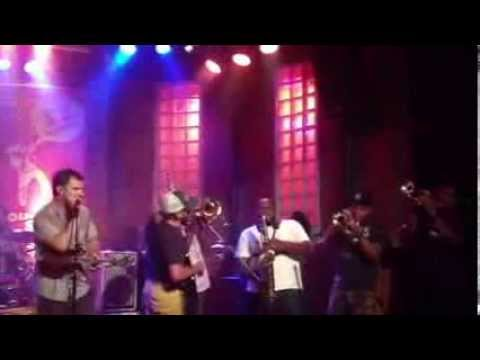 The Soul Rebels & Honey Island Swamp Band at Bourbon Street Club- São Paulo, Brazil