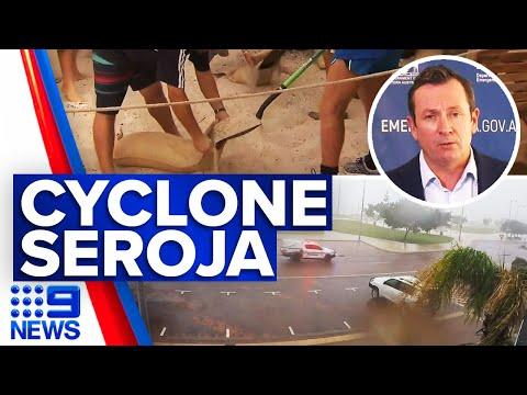 WA cyclone declared code red situation   9 News Australia