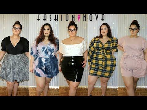 Fashion Nova Curve PLUS SIZE Spring Haul | Posi Claudia