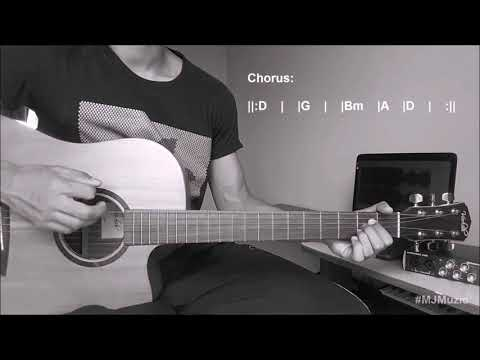 Next To Me (Imagine Dragons) || Guitar Chords Tutorial - MJ ||