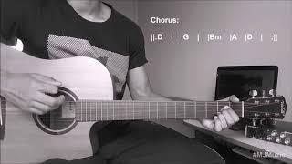 Next To Me (Imagine Dragons) || Guitar Chords Tutorial - MJ ||