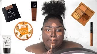 Drugstore/Affordable Makeup Look  | For Black Women | It's Cee Cee