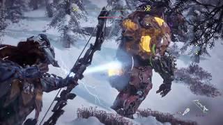 Horizon Zero Dawn: Killing two Fireclaws