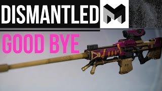 Deleting the RAREST sniper in Destiny: